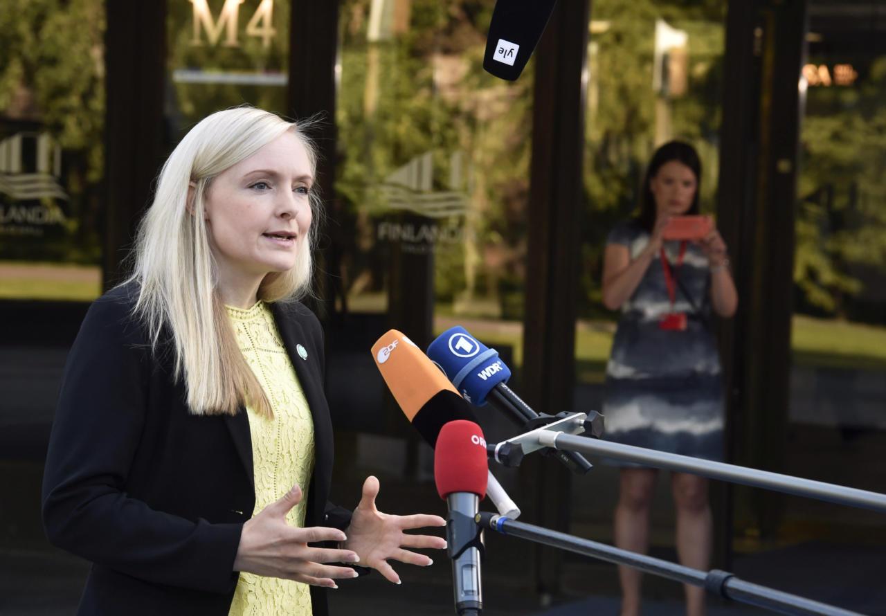 Soome mürkroheline siseminister Maria Ohisalo kutsub üles Vahemere inimkaubandust laiendama