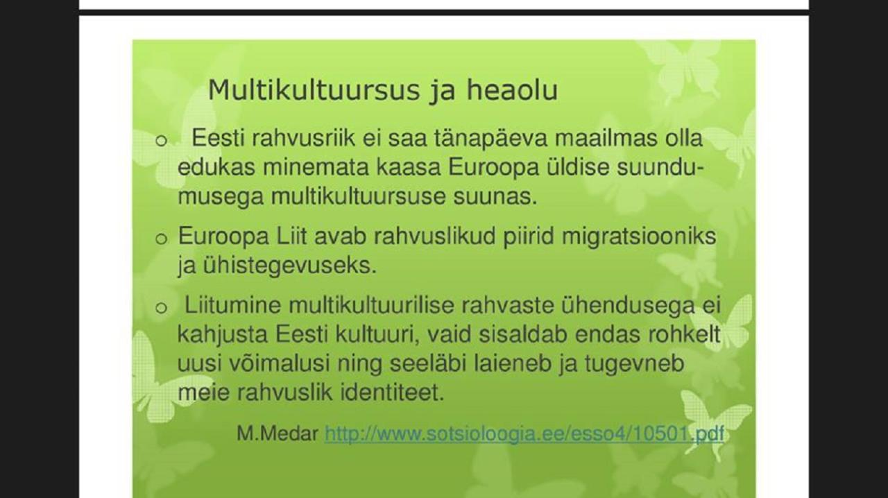 """Lillelaps Johanna Viik kuulis sõna """"hobusevaras"""" ja tormas Tallinna Ülikooli kaitsma"""