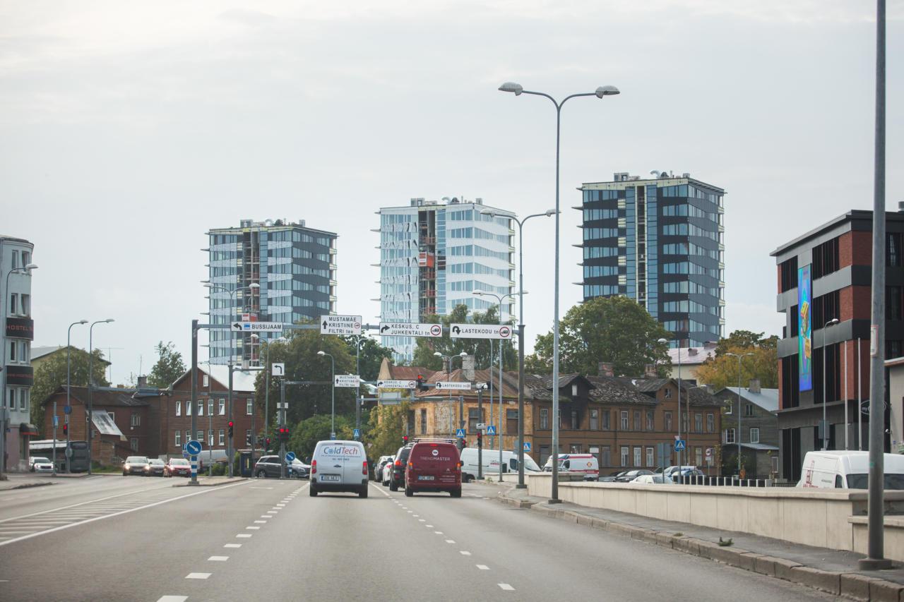 Idee Soomes elavaid pagulasi Tallinnasse majutada olevat pärit Eestist?