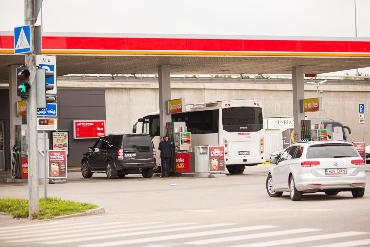 Bensiinitankla, tankimine, kütus, tankla