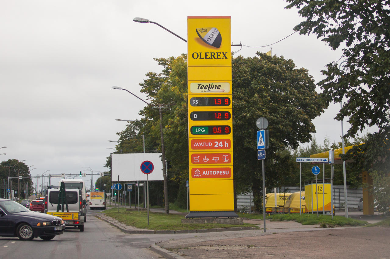 olerex, kütus, tankla, bensiinijaam
