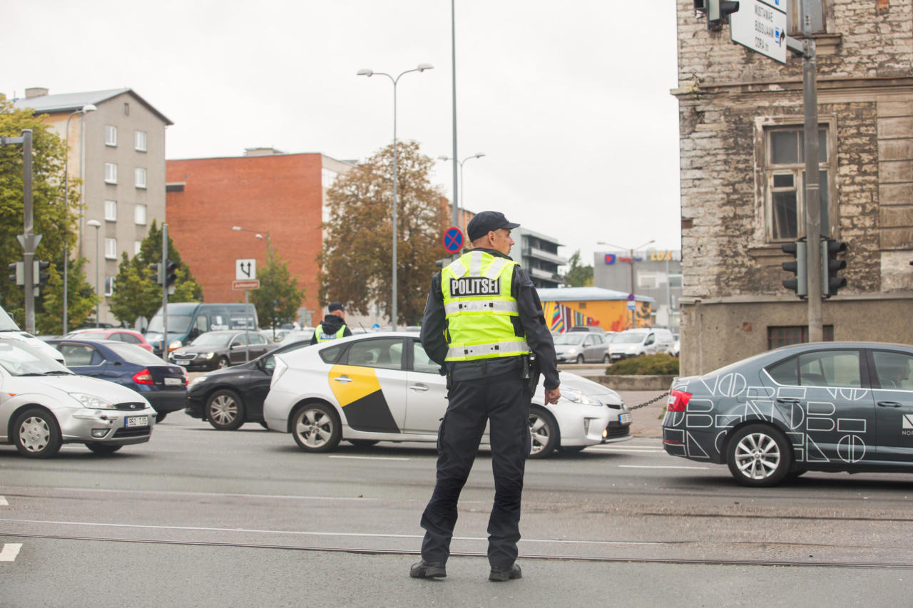 politsei, liiklus