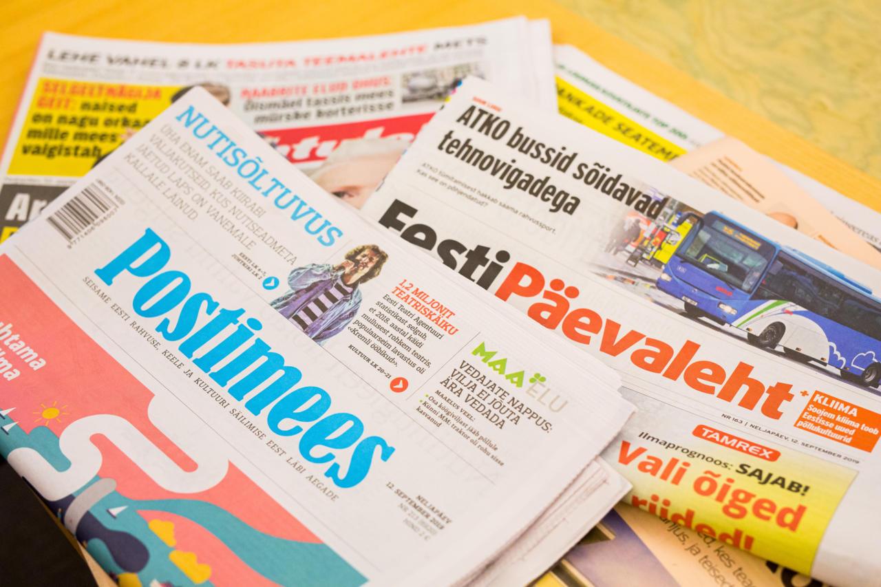 Ajakirjandus sipleb kahe maailmavaate vahel.