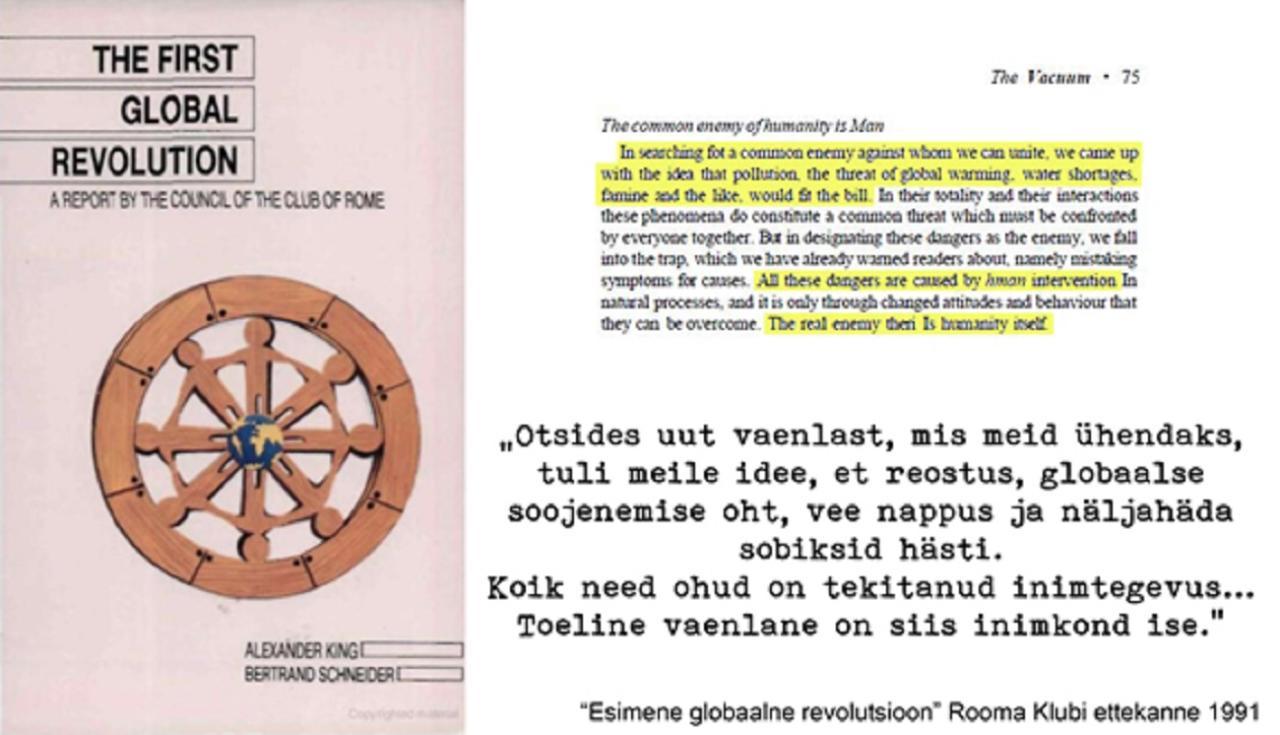"""Kliimapaanika prohvetid: Rooma Klubi """"nägi seda ette"""" juba 28 aasta eest"""