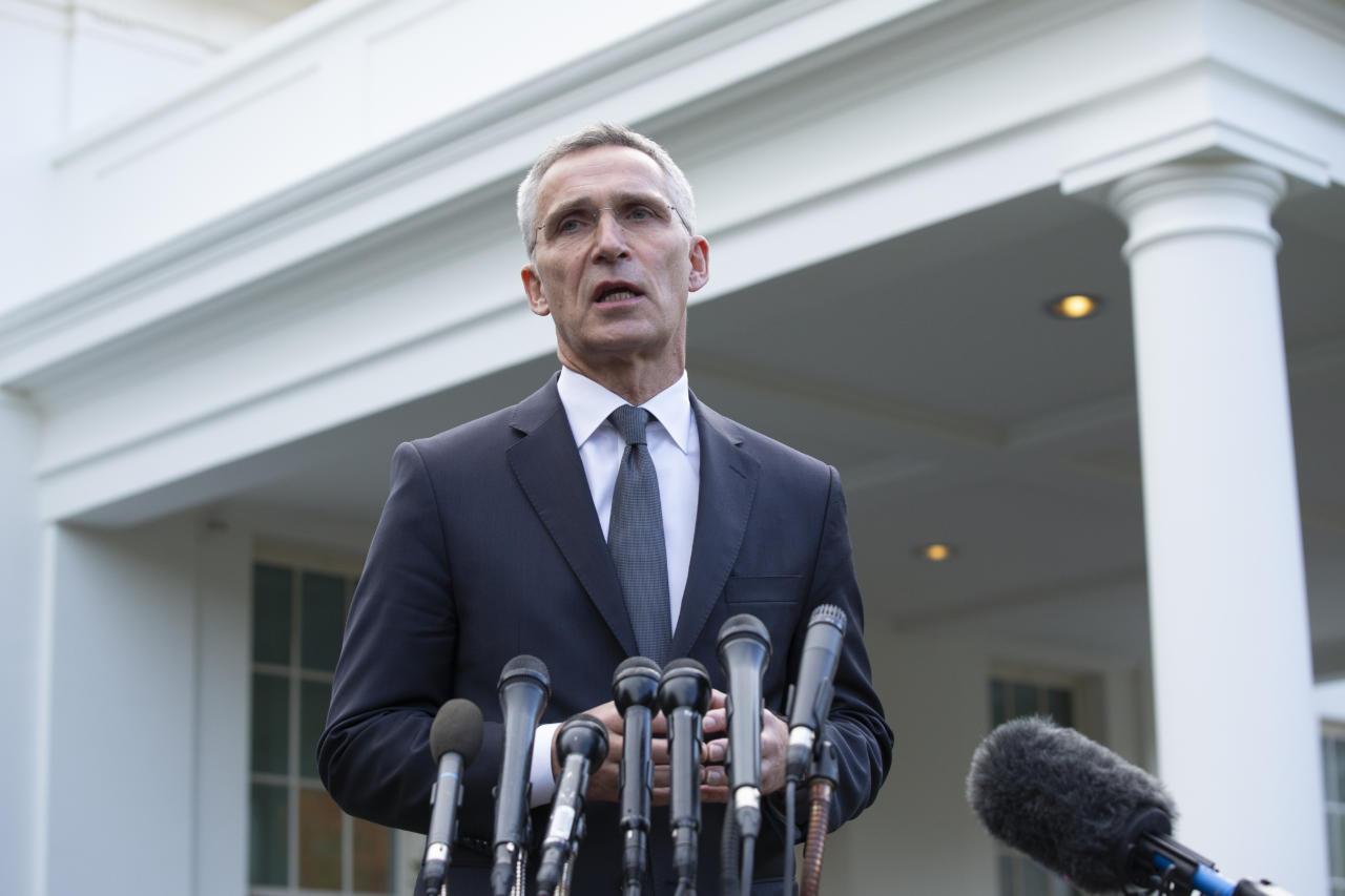 NATO juht Jens Stoltenberg andis kõrge hinnangu president Trumpi tegevusele alliansi heaks