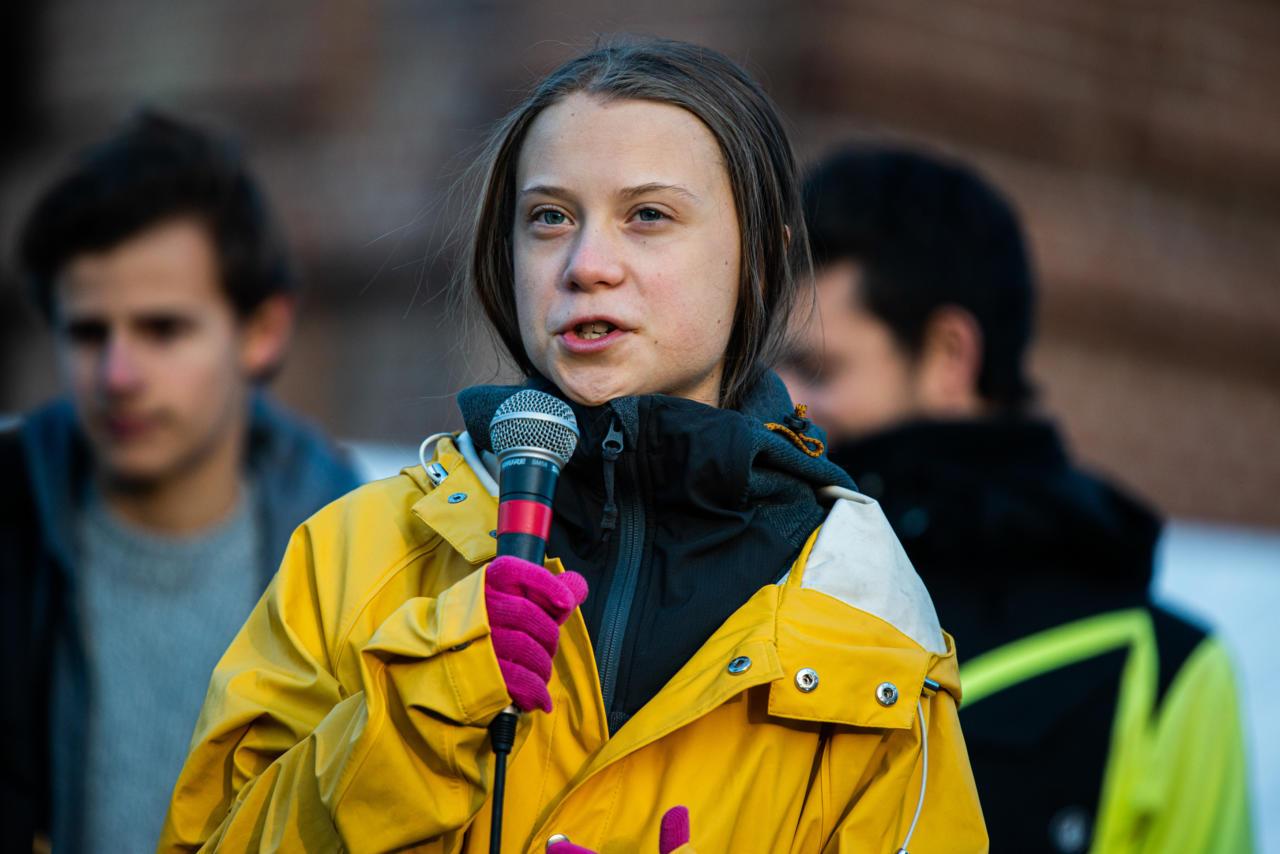 Nagu arvata oligi – Greta Thunbergi seina äärde panemise hoiatust olevat valesti mõistetud