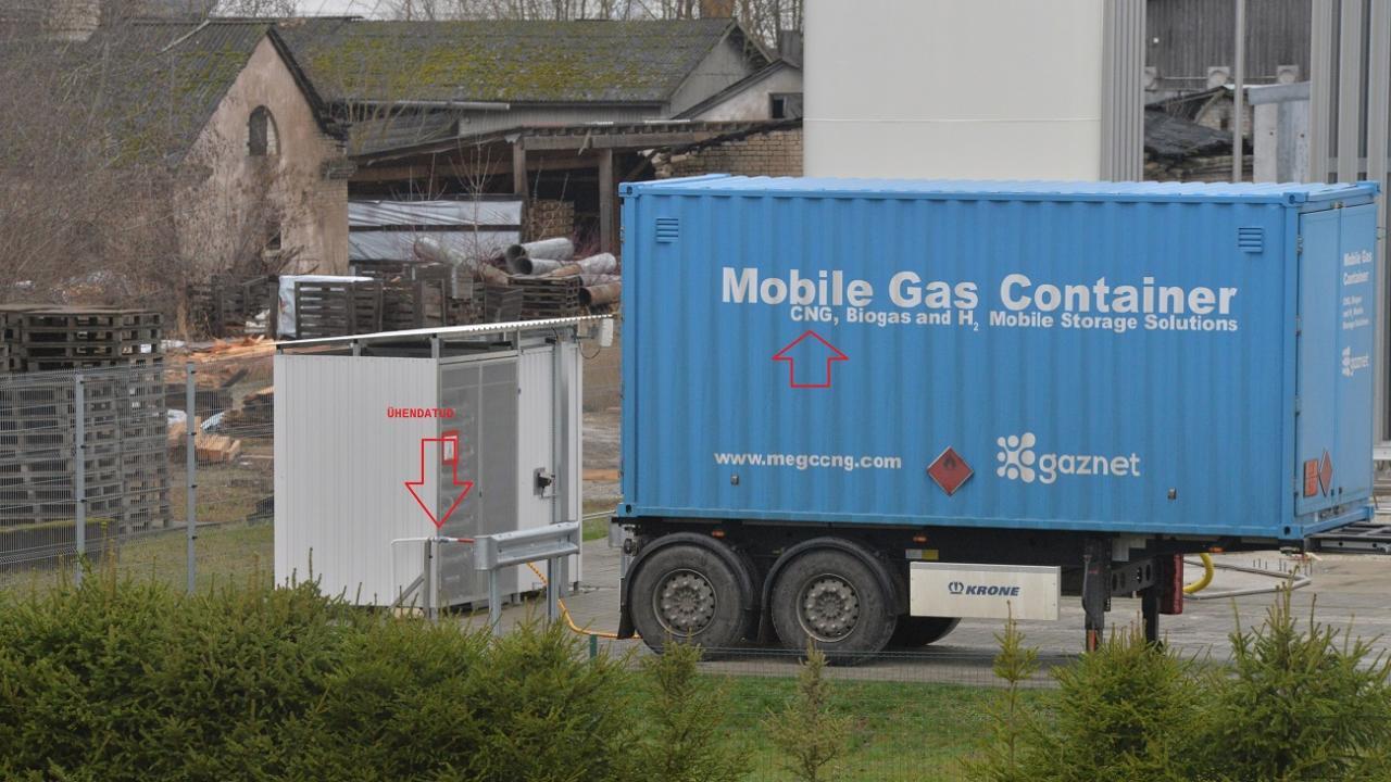 Ettevõtja: Paide LNG jaam on alles projekteerimise järgus, aga töö juba käib