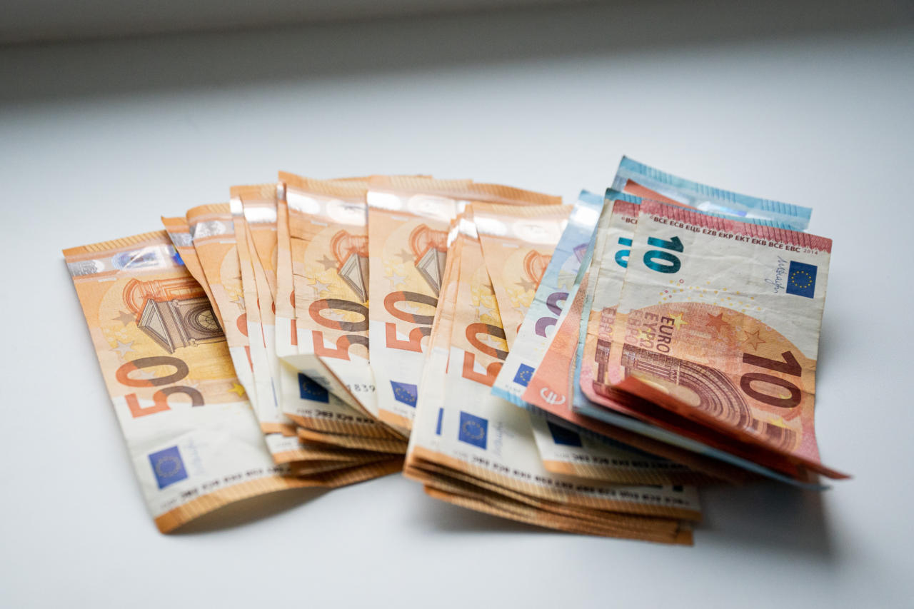 Euro peab majanduskriisis läbima oma katsumuse. Pilt on illustratiivne.