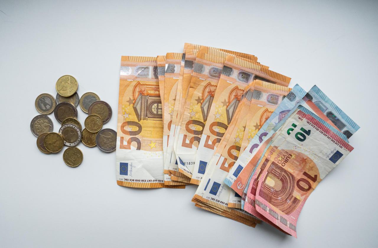 Sularaha, euro, raha, münt, mündid